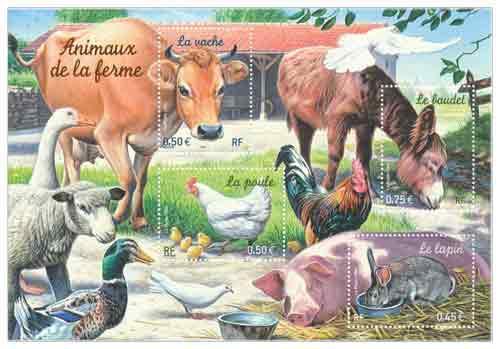 Bloc : Animaux de la ferme