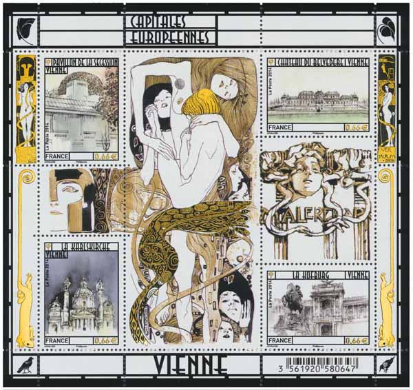 Bloc : Capitales européennes Vienne