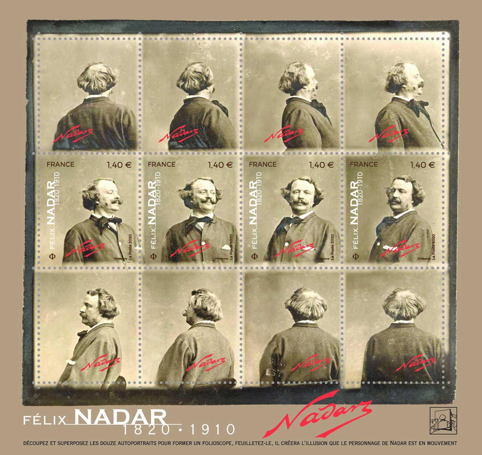 Bloc : Félix Nadar 1820 - 1910
