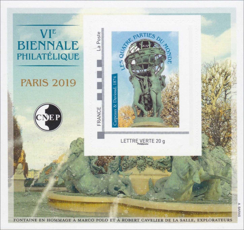 Bloc : VIème Biennale philatélique - Paris
