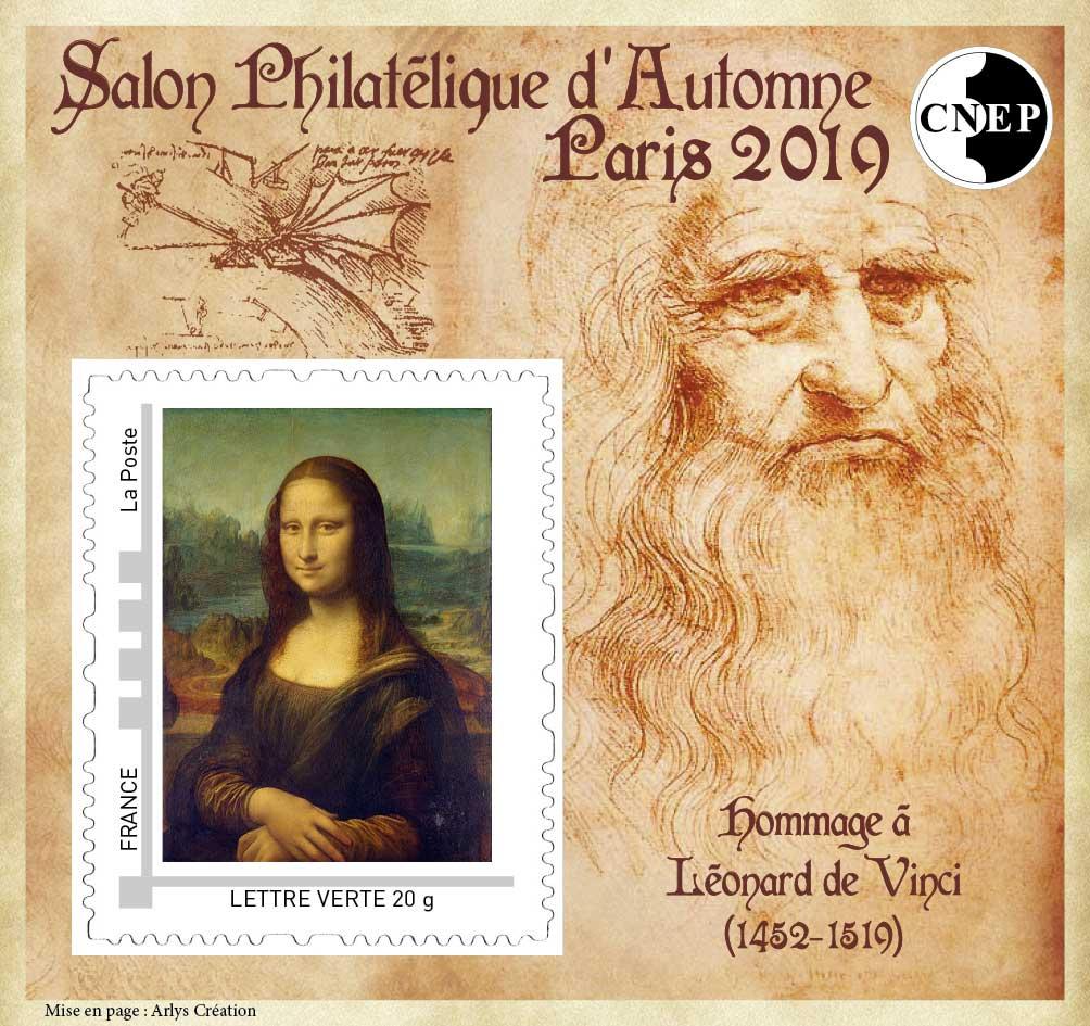 Timbre : Salon Philatélique d'Automne, Paris 2019