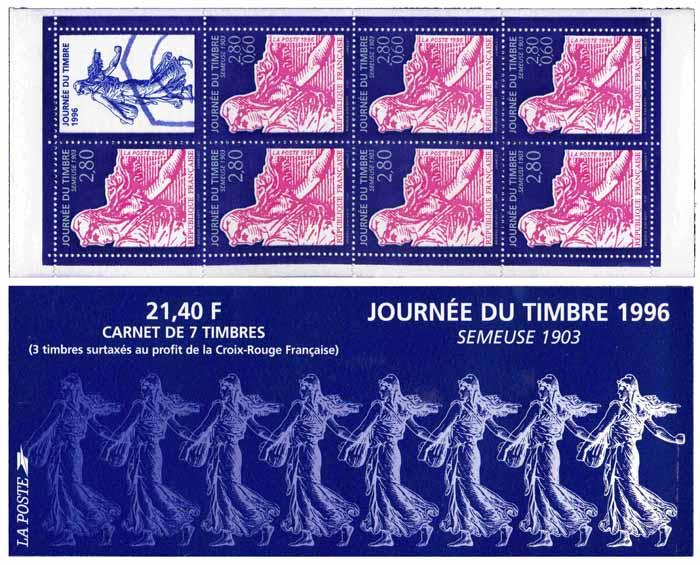 Carnet : JOURNÉE DU TIMBRE 1996