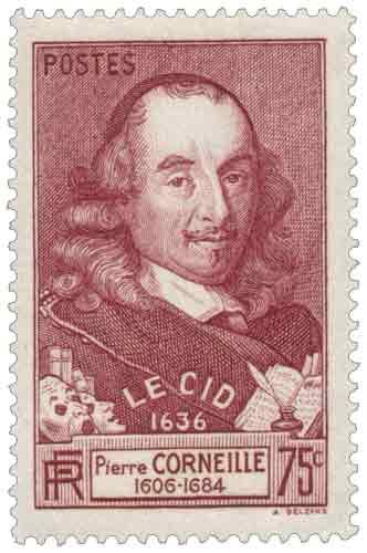Timbre : LE CID 1636 Pierre CORNEILLE 1606-1684
