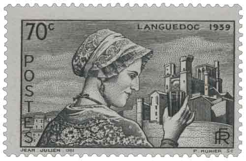Timbre : LANGUEDOC 1939