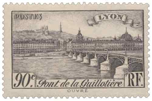 Timbre : LYON Pont de la Guillotière
