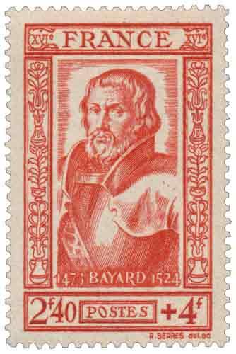 Timbre : Seigneur de Bayard (1476-1524)