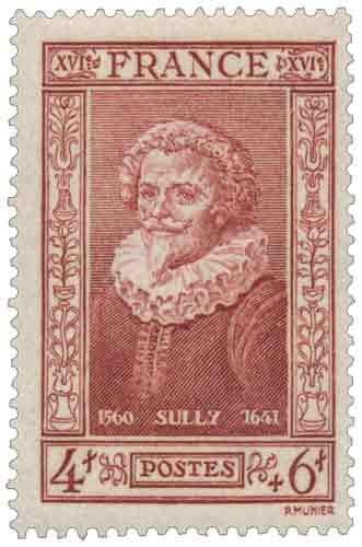 Timbre : Duc de Sully 1560-1641