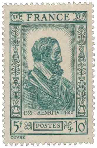 Timbre : Henri IV (1553-1610)