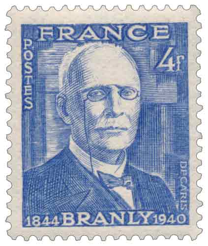 Timbre : Edouard BRANLY 1844-1940