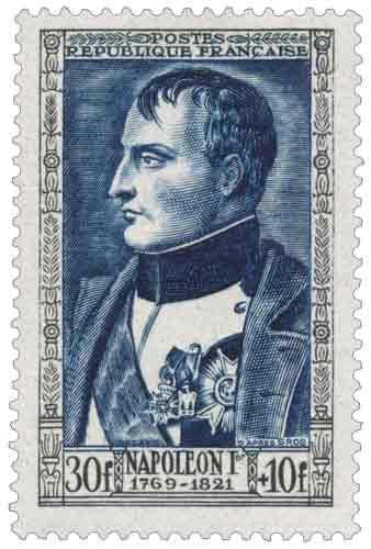 Timbre : NAPOLÉON 1er 1769-1821