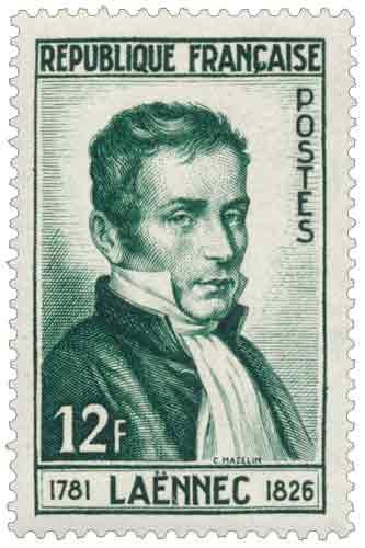 Timbre : LAËNNEC 1781-1826