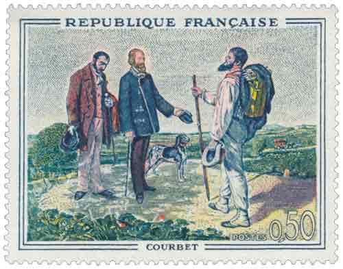 Timbre : Bonjour M. Courbet