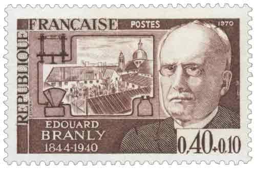 Timbre : ÉDOUARD BRANLY 1844-1940