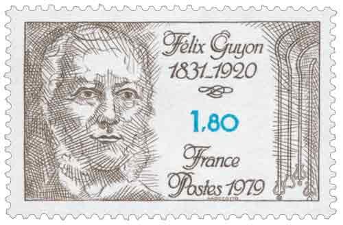 Timbre : Félix Guyon 1831-1920