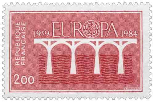 Timbre : EUROPA CEPT 1959-1984