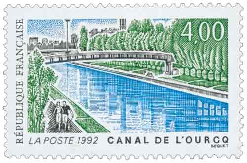 Timbre : CANAL DE L'OURCQ