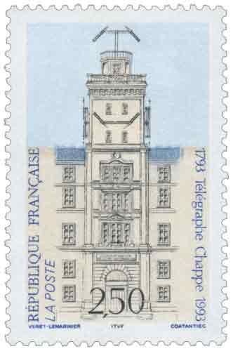 Timbre : Télégraphe Chappe 1793-1993