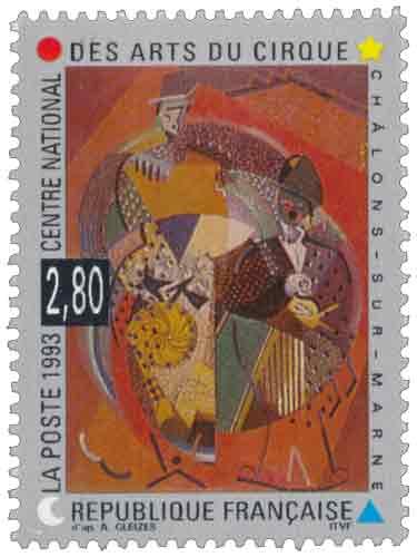 Timbre : CENTRE NATIONAL DES ARTS DU CIRQUE CHÂLONS-SUR-MARNE
