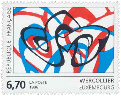 Timbre : WERCOLLIER Luxembourg