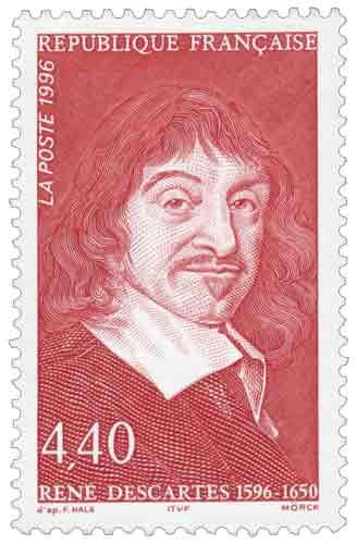 Timbre : RENÉ DESCARTES 1596-1650