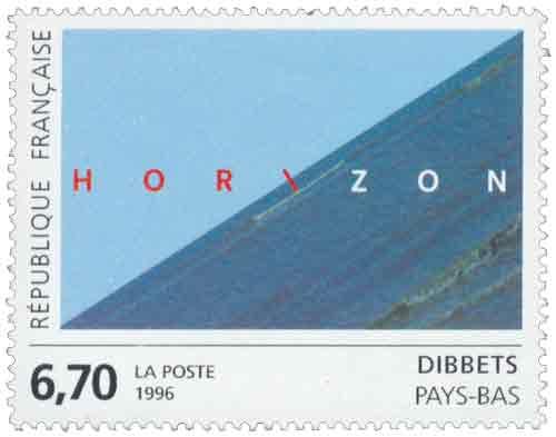 Timbre : HOR\ZON DIBBET PAYS-BAS