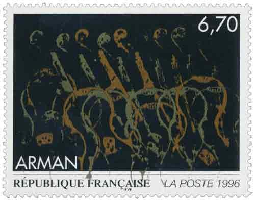 Timbre : Œuvre originale d'Arman