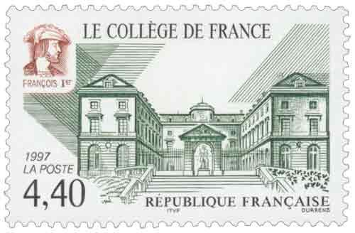 Timbre :  LE COLLÈGE DE FRANCE FRANÇOIS 1er
