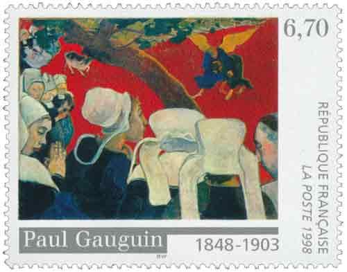 Timbre : Paul Gauguin 1848-1903