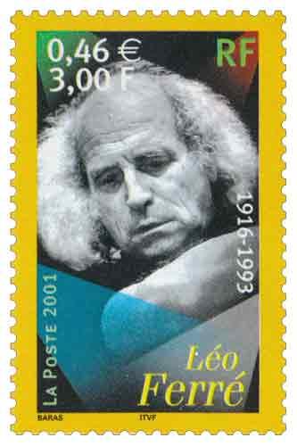 Timbre : Léo Ferré 1916-1993