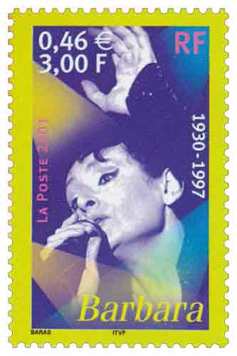 Timbre : Barbara 1930-1997