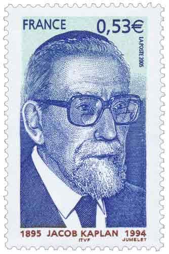 Timbre : JACOB KAPLAN 1895-1994
