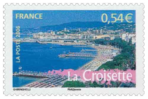 Timbre : 2006 La Croisette à Cannes