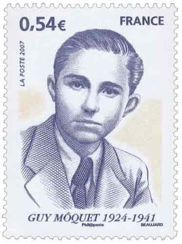 Timbre : Guy Môquet (1924-1941)