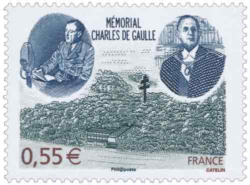 Timbre : MÉMORIAL CHARLES DE GAULLE