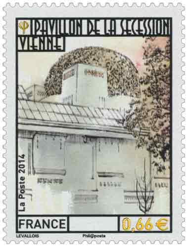 Timbre : Pavillon de la sécession vienne