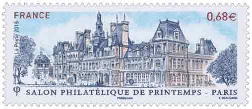 Timbre : Salon philatélique de printemps - Paris