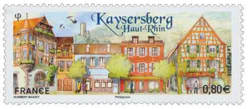 Timbre : Kaysersberg - Haut-Rhin