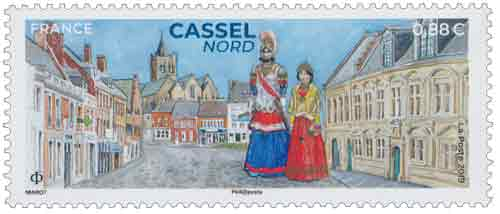 Timbre : 2019 CASSEL NORD