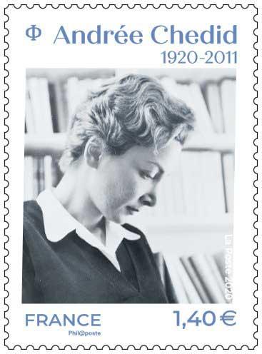 Timbre : Andrée Chedid 1920 - 2011