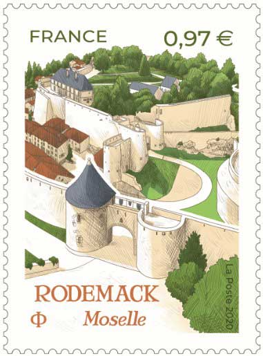 Timbre : Rodemack Moselle