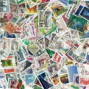 France - Collection de 400 timbres différents