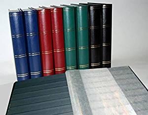 Leuchtturm Classeur Album pour timbres, 60 pages