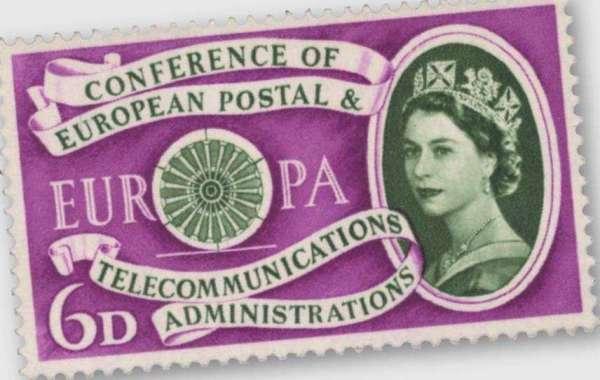 Premier anniversaire de la poste européenne et de la Conférence des télécommunications (CEPT), septembre 1960