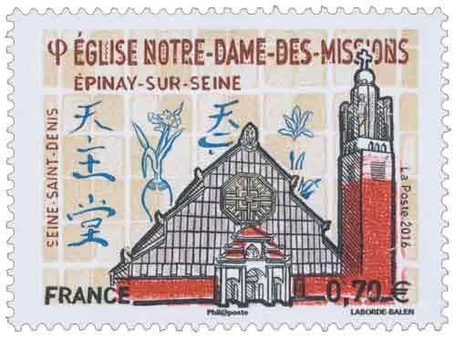 Église Notre-Dame-des-Missions - Épinay-sur-Seine - Seine-Saint-Denis