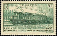 13 ème congrès international des chemins de fer à Paris