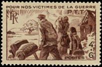Au profit des victimes de guerre des PTT
