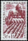 Métiers 1949 - Représentation d'un agriculteur