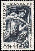 Les Métiers 1949 -  Représentation d'un mineur