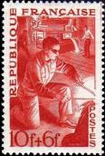 Les Métiers 1949 - Représentation de métallurgistes