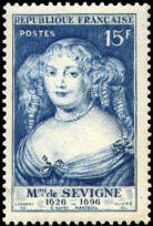Mme de SEVIGNE 1626-1696